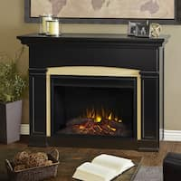 Real Flame Holbrook Grand Electric Fireplace Black
