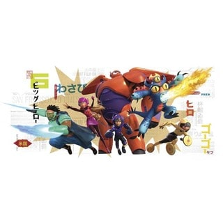 Big Hero 6 Wall Graphix Peel and Stick Giant Wall Decals