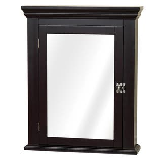 Espresso Colonial Mirrored Medicine Cabinet|https://ak1.ostkcdn.com/images/products/9669494/P16850472.jpg?impolicy=medium