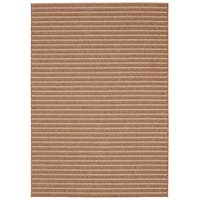 Loft Gracie Striped Natural Design Indoor/ Outdoor Rug (7'10 x 10')