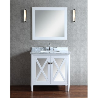 Ariel Summit 36-inch Single Sink Bathroom Vanity Set