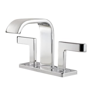 Pfister Skye Lavatory 046 SK C/S 3H 2-handle Polished Chrome Faucet