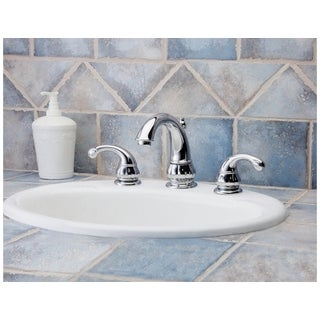 Pfister Treviso Lavatory 49 TV 8IN Widespread 2-handle Chrome Faucet