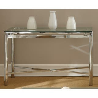 Chrome Coffee Console Sofa Amp End Tables For Less Overstock