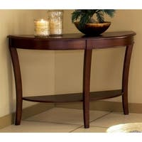Copper Grove Angelina Cherry Finished Sofa Table