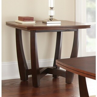 Greyson Living Kassel Two-tone End Table