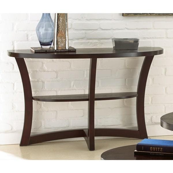 Amia Espresso Sofa Table by Greyson Living