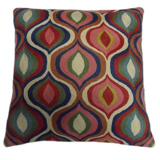 Contemporary Chirag Embroidered Decorative Throw Pillow