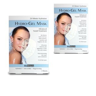 BioMiracle Hydro-Gel Face Mask (Pack of 2)