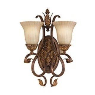 Feiss Sonoma Valley 2 - Light Sconce, Aged Tortoise Shell