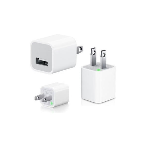 5W USB Power Adapter Cube for iPhones 5/5S, 6/6S (Bulk Packaging)