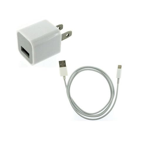 Apple Original Home Charger Adapter USB Cable for iPhone 6, 6s, 6plus, 5, 5c, 7s, SE, iPad, iPod