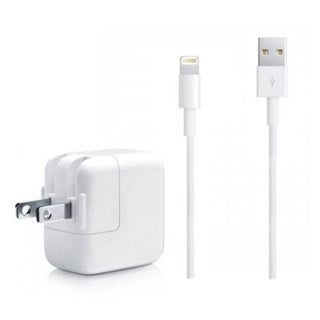 Link to Apple OEM USB 3.5 FT Lightning Cable Power Cord + 12W Wall Charger for Apple iPad Air iPhone 5, 5C, Similar Items in Cell Phone Accessories