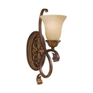 Murray Feiss Sonoma Valley 1-light Aged Tortoise Shell Sconce (18-inch)