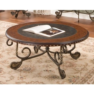 Riviera Round Coffee Table by Greyson Living  by Greyson Living