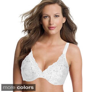 Playtex Secrets Feel Gorgeous Embroidered Underwire Bra