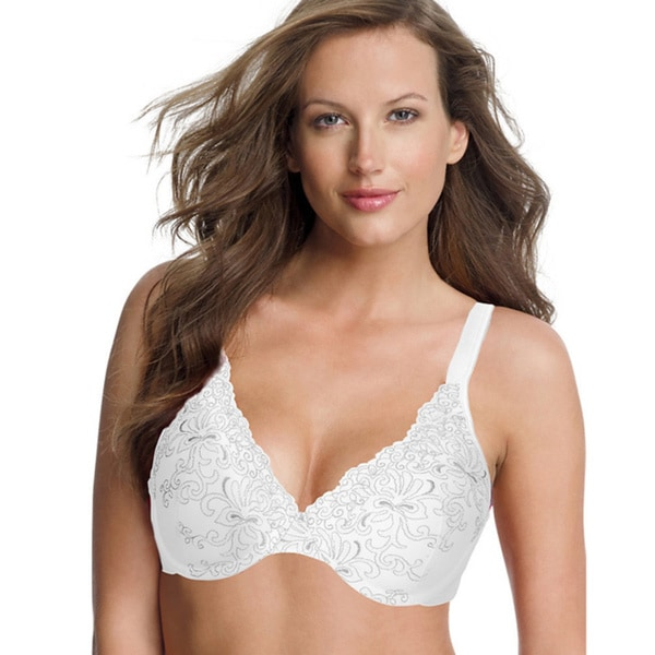 47b5d69d0cf Shop Playtex Secrets Feel Gorgeous Embroidered Underwire Bra - On ...