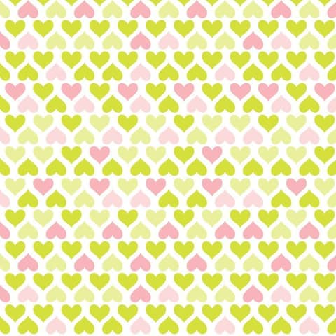 Con-Tact Brand Grip Prints Non-Adhesive Non-Slip Shelf and Drawer Liner - Lemonade Hearts 18 x 48-inch (6 Pack)