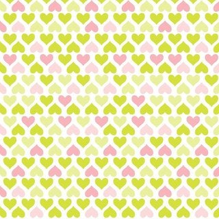 Con-Tact Brand Grip Prints Non-adhesive Shelf Liner- Lemonade Hearts 18 x 48-inch 6-pack