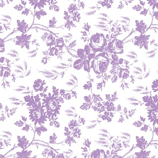 Con-Tact Brand Toile Lavender 18-inch x 4-foot Grip Prints Non-Adhesive Shelf Liners (6 Pack)
