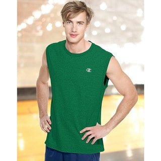 Champion Men's Cotton Jersey Muscle Tee