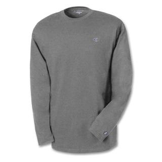 Champion Men's Cotton Jersey Long Sleeve T-shirt