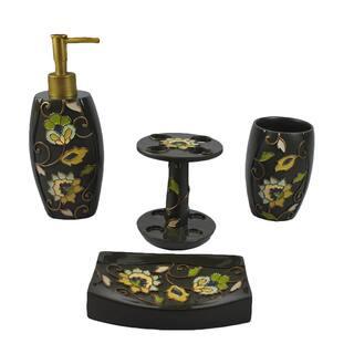Sherry Kline Jacquelyn 4-piece Bath Accesory Set|https://ak1.ostkcdn.com/images/products/9670596/P16851214.jpg?impolicy=medium