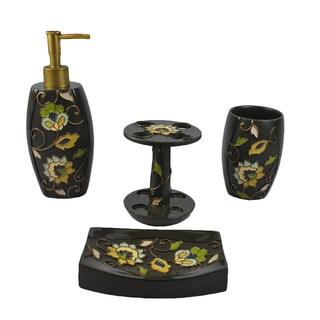 Sherry Kline Jacquelyn 4-piece Bath Accesory Set