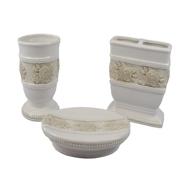 Sherry Kline Winchester 3-piece Bath Accesory Set