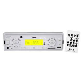 Pyle RBPLMR89WW In-Dash AM/FM/ MP3/ USB/ SD Card Weatherband Car Receiver (Refurbished)
