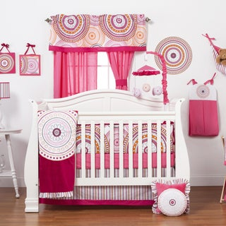 Sophia Lolita 8-piece Crib Bedding Set