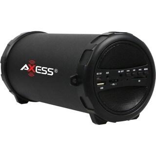 Axess SPBT1031 2.1 Speaker System - 9 W RMS - Portable - Battery Rech