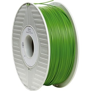 Verbatim ABS 3D Filament 1.75mm 1kg Reel - Green - TAA Compliant