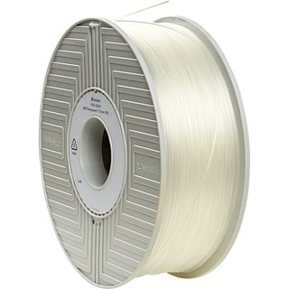 Verbatim ABS 3D Filament 1.75mm 1kg Reel - Transparent - TAA Complian