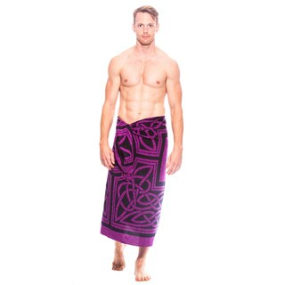 1 World Sarongs Men's Celtic Circles Sarong (Indonesia)