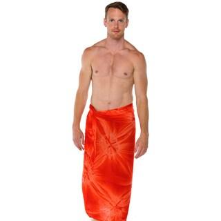 1 World Sarongs Men's Smoked Sarong (Indonesia)