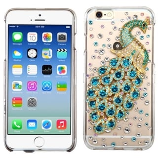 INSTEN Design Pattern 3D Crystal Hard Snap-on Phone Case Cover With Diamond For Apple iPhone 6 4.7-inch