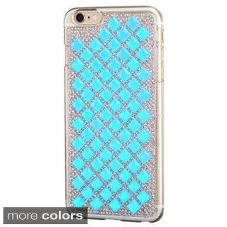 INSTEN Diamond Bling Hard PC Plastic Snap-on Phone Case Cover For Apple iPhone 6 Plus/ 6+ 5.5-inch