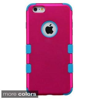 INSTEN Tuff Dual Layer Hybrid Rubberized Hard PC/ Silicone Phone Case Cover For Apple iPhone 6 Plus/ 6+ 5.5-inch