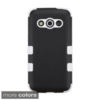INSTEN Dual Layer Hybrid Rubberized Hard PC Plastic PC/ Silicone Phone Case Cover For Samsung Galaxy Avant