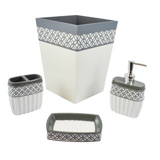 Sherry Kline Fresh 4-piece Bath Accesory Set