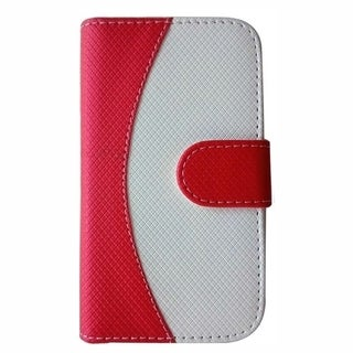 Insten Premium Flip Folio Leather Phone Case for Samsung Galaxy Light SGH-T399