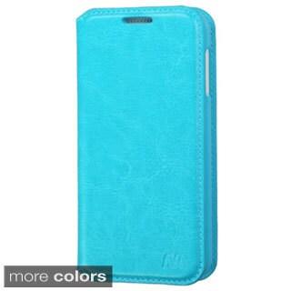 INSTEN Premium Stand Folio Flip Leather Wallet Phone Case Cover For HTC Desire 510