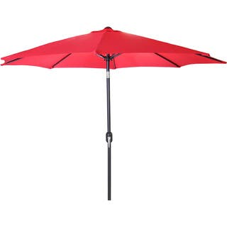 Jordan Manufacturing 9 Foot Steel Market Umbrella