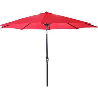 Jordan Manufacturing 9-foot Steel Market Umbrella