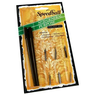 Speedball General Purpose Pen Set (Pack of 2)