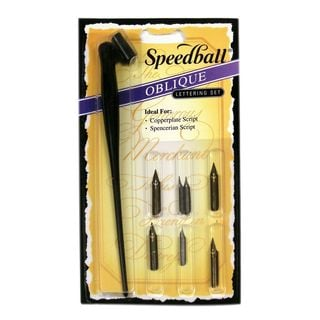 Speedball Oblique Pen Set (Pack of 2)