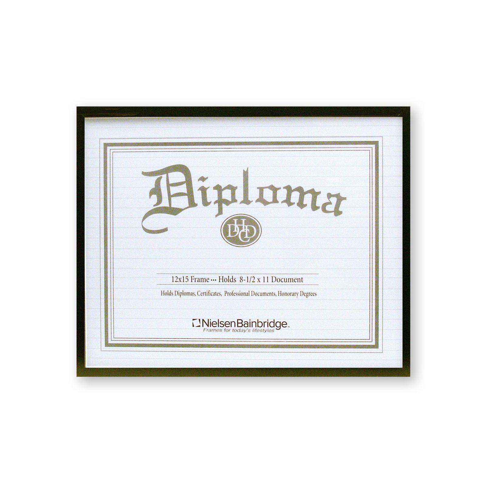 Nielsen Bainbridge Certificate Frame (8 1/2 in. x 11 in.)...