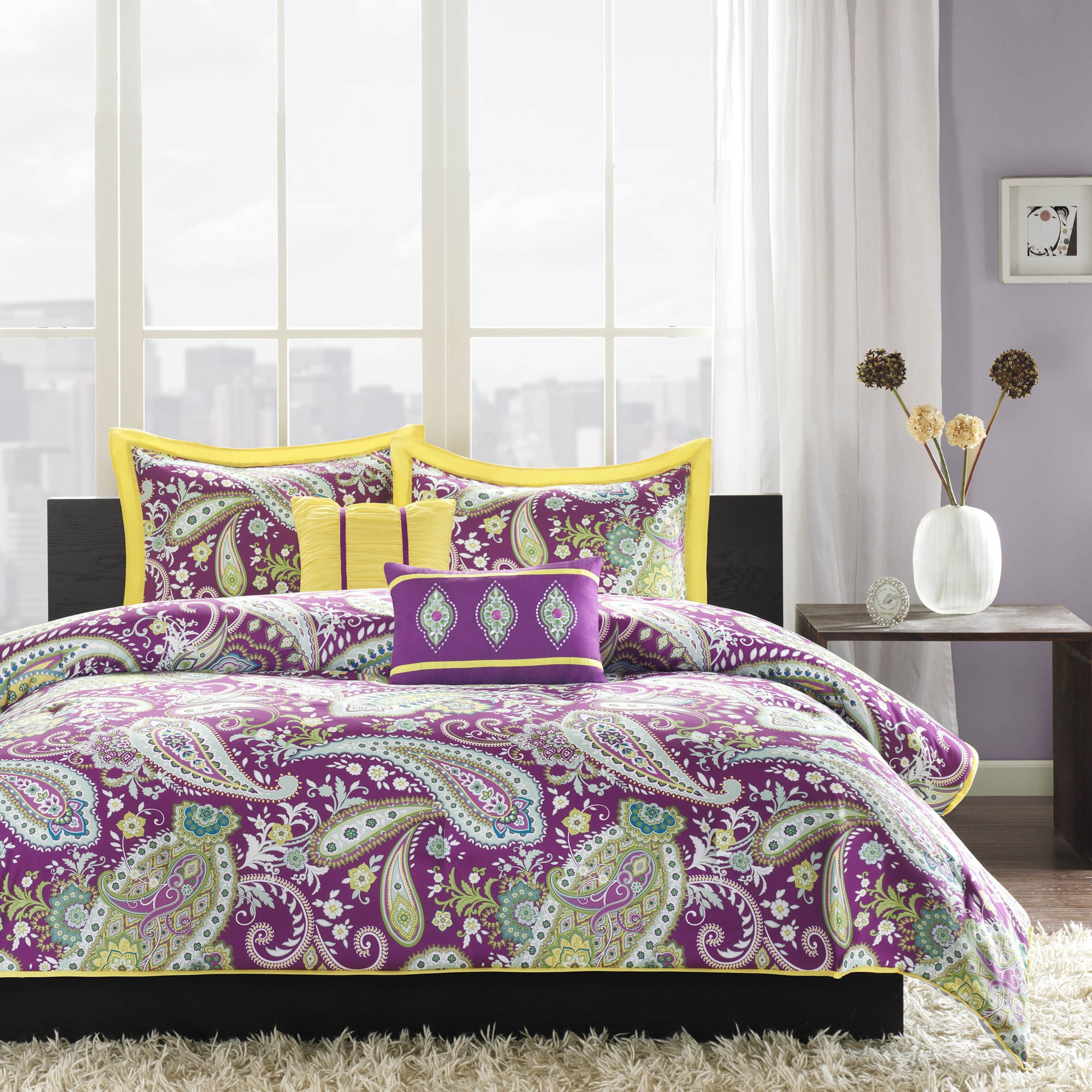 Shop Intelligent Design Kayla 5 Piece Duvet Cover Set