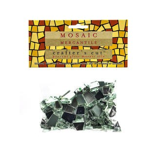 Mosaic Mercantile Crafter's Cut Mirror Mosaic Tiles